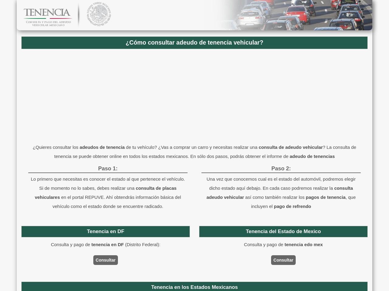 tenenciavehicular.com.mx