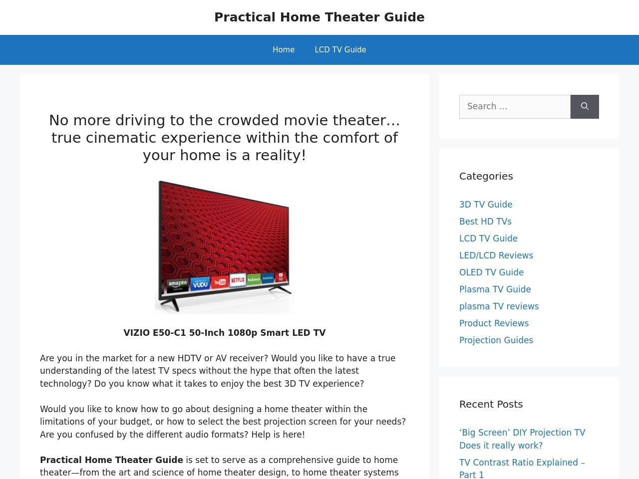 practical-home-theater-guide.com